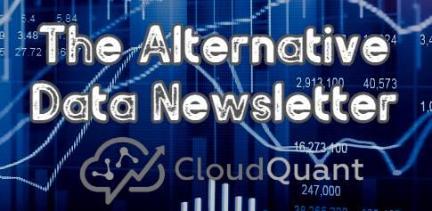Alternative Data News. 03, June 2020