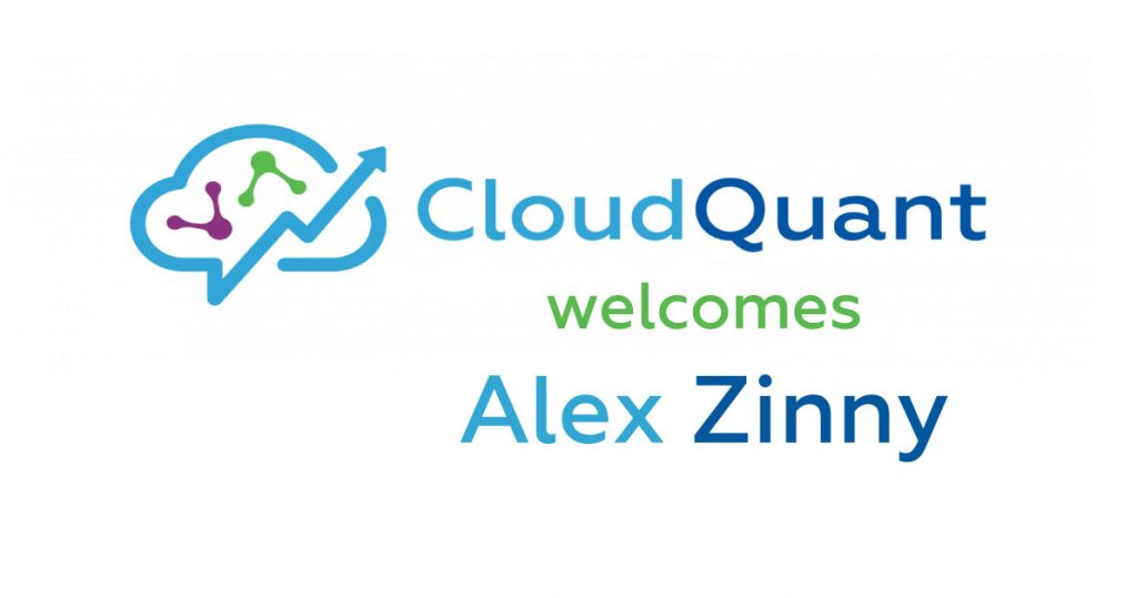 Alex Zinny Joins CloudQuant as Sales Director to Meet Heightened Industry Demand